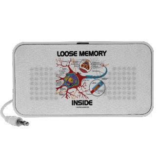 Loose Memory Inside (Neuron / Synapse) Speaker System