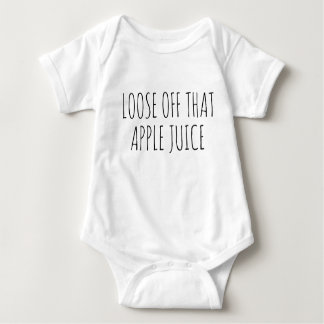 Loose off that Apple Juice Baby Jumpsuit