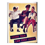 Loose Talk Can Cost Lives Full Color Flyer