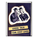 Loose Talk Can Cost Lives Personalized Flyer