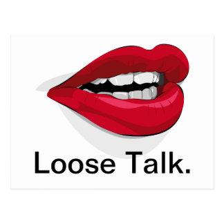 Loose Talk. Postcard
