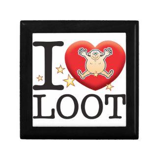 Loot Love Man Small Square Gift Box