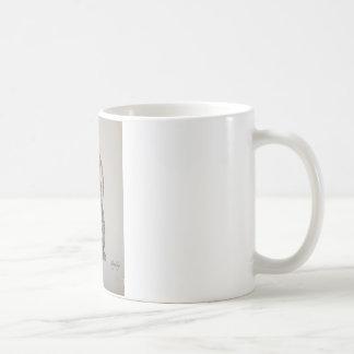 Lop eared rabbit design coffee mug