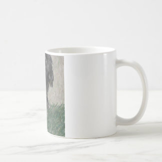 Lop eared  rabbit painting coffee mug
