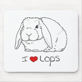 Lop Rabbit Mouse Mats
