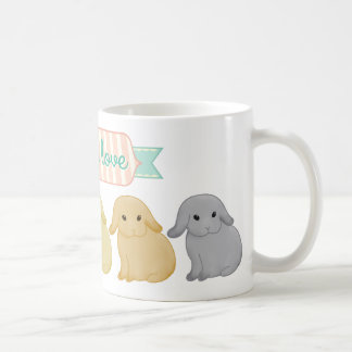 Lops of Love Custom Drink-ware Basic White Mug
