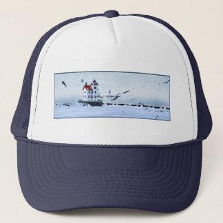 Lorain Lighthouse Trucker Hat