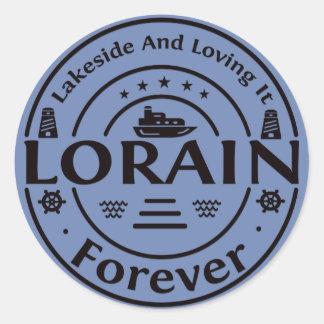 Lorain Ohio Forever Classic Sticker