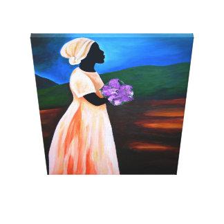 Loraine 2008 canvas print