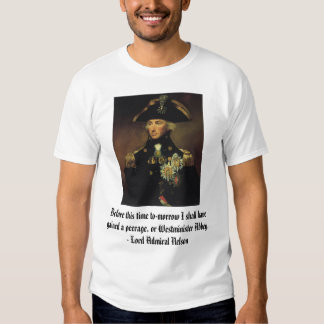 Lord Admiral Nelson T Shirts