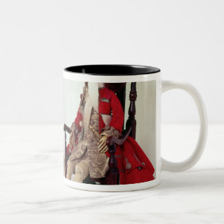 Lord and Lady Clapham Two-Tone Coffee Mug