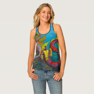 Lord and Lady of Atlantis Tank Top