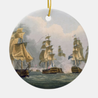Lord Bridport's Action off Port L'Orient, June 23r Christmas Ornament