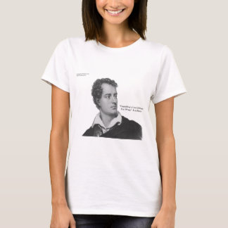 "Lord Byron ""Love W/O Wings"" Quote Gifts & Tees"