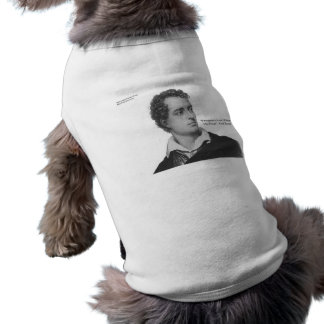 "Lord Byron ""Love W/O Wings"" Quote Gifts & Tees Sleeveless Dog Shirt"