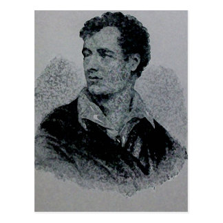 Lord Byron Postcard
