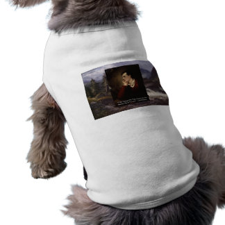 "Lord Byron ""Sweet Voice"" Love Quote Gifts Tees Etc Sleeveless Dog Shirt"