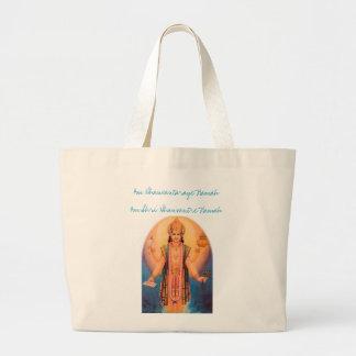 Lord Dhanwantari Large Tote Bag