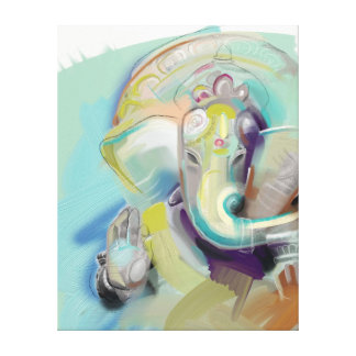 Lord Ganesh Art Canvas