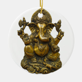 LORD GANESH HINDU GOD CHRISTMAS ORNAMENT