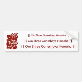 Lord Ganesha Bumper Sticker