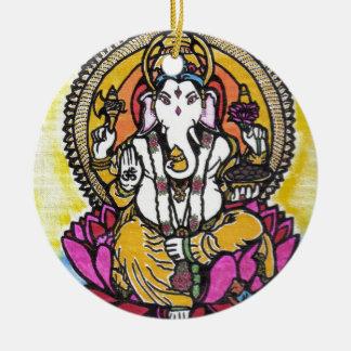 Lord Ganesha Christmas Ornament