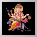 LORD GANESHA - Ganapati, Vinayaka, and Pillaiyar Posters