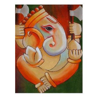 Lord Ganesha Post Card