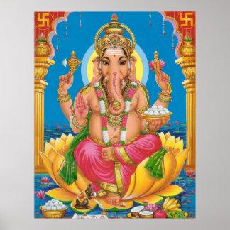 Lord Ganesha Poster