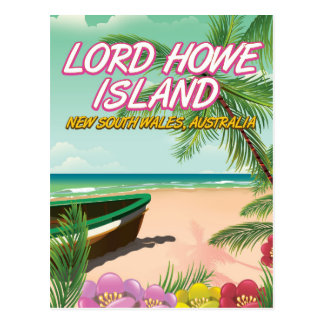 Lord Howe Island Australia Postcard