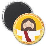Lord Jesus Christ 6 Cm Round Magnet