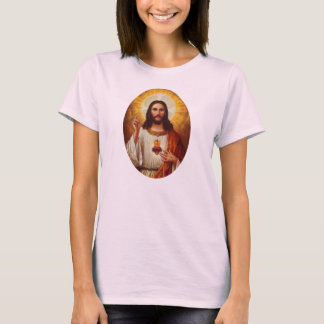 Lord Jesus Christ and the Sacred Heart T-Shirt