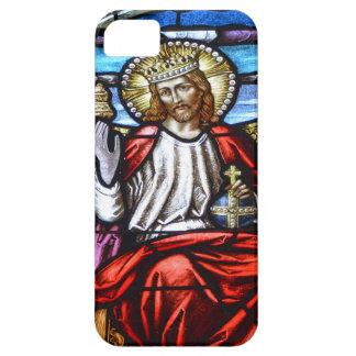 Lord Jesus stained glass iphone case iPhone 5 Cover