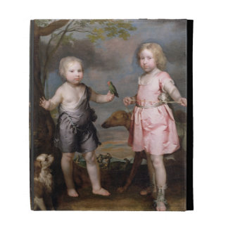 Lord John Hay and Charles, Master of Yester (later iPad Folio Cases