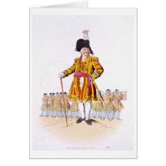 Lord Mayor, from 'Costume of Great Britain', publi Greeting Card