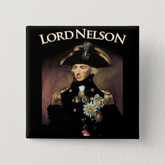 Lord Nelson 15 Cm Square Badge