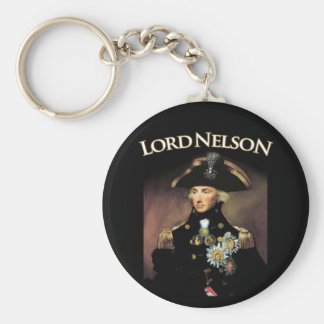 Lord Nelson Basic Round Button Key Ring