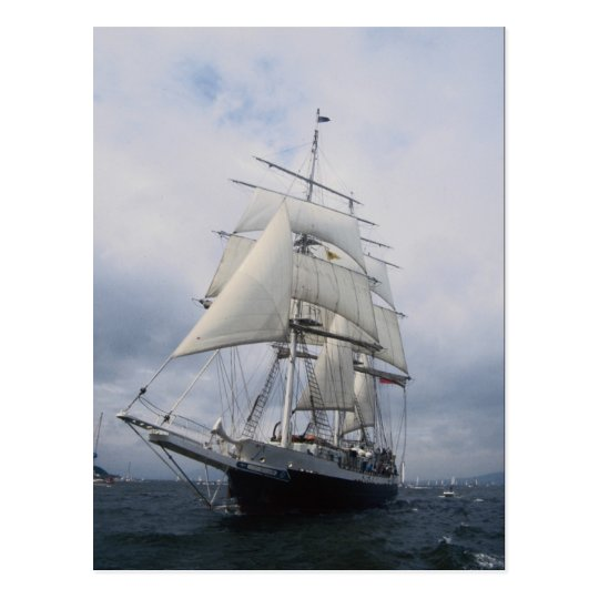 "Lord Nelson"", tall ship Postcard"