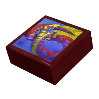 Lord of Atlantis Large Square Gift Box