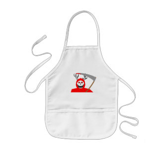 Lord Of Death Kids Apron