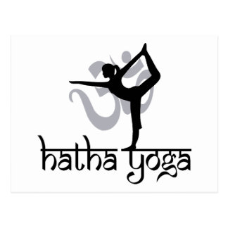 Lord Of The Dance Pose Hatha Yoga Post Cards