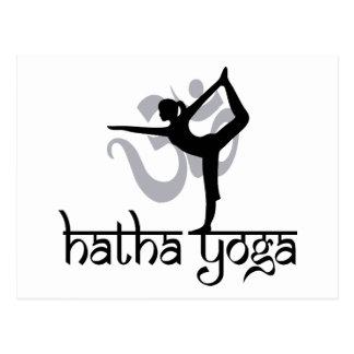 Lord Of The Dance Pose Hatha Yoga Postcard