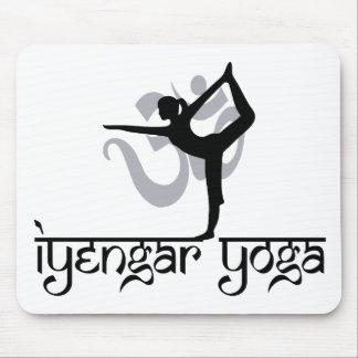 Lord of The Dance Pose Iyengar Yoga Gift Mousepads
