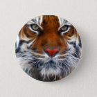 Lord of the Indian Jungles, The Royal Bengal Tiger 6 Cm Round Badge