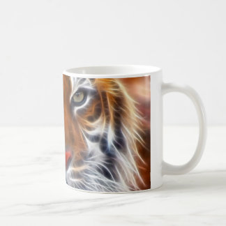 Lord of the Indian Jungles, The Royal Bengal Tiger Basic White Mug