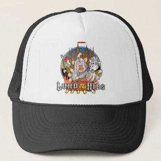 LORD OF THE RIBS BBQ TRUCKER HAT