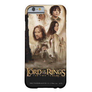 Lord of the Rings: The Two Towers Movie Poster Barely There iPhone 6 Case
