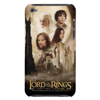 Lord of the Rings: The Two Towers Movie Poster iPod Touch Case