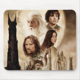 Lord of the Rings: The Two Towers Movie Poster Mouse Pad