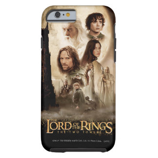 Lord of the Rings: The Two Towers Movie Poster Tough iPhone 6 Case